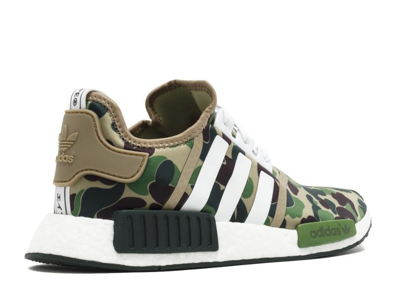 f11249ea6 Adidas NMD R1 BAPE GREEN CAMO Adidas NMD R1 BAPE GREEN CAMO  BA7326  -   129.00   Online Store for Adidas® Yeezy 350 Sply V2