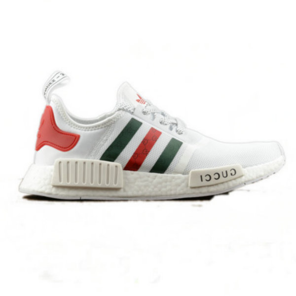 Adidas NMD Custom White Gucci