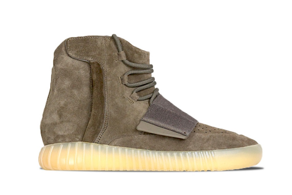 Adidas Yeezy Boost 750 Chocolate Brown.