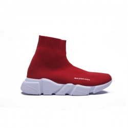 Balenciaga Speed Trainer Sock Red