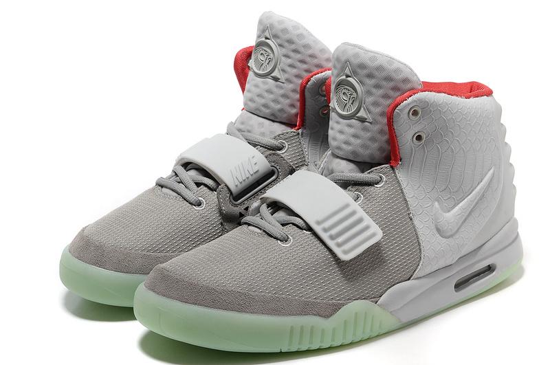 half off 955a0 eeb85 Nike Air Yeezy 2 NRG Wolf Grey Pure Platinum [Air Yeezy 2 ...