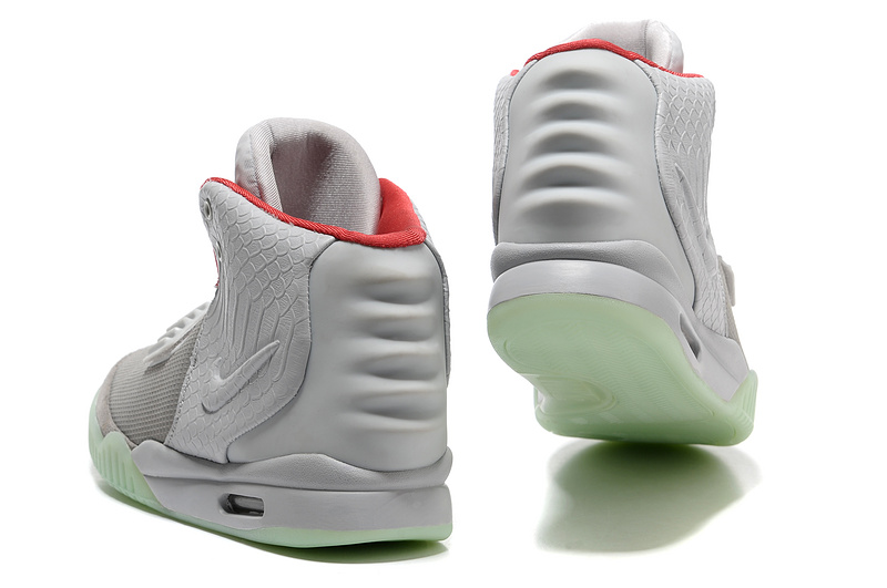 la moitié 548f9 f1ee7 Nike Air Yeezy 2 NRG Wolf Grey Pure Platinum [Air Yeezy 2 ...
